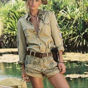 Spell Designs Desert Wanderer Shorts NWT Small 🦘